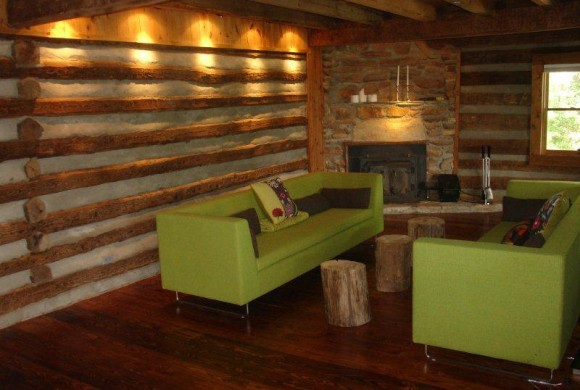 Log Home Renovation