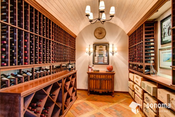 Buena Vista Wine Room Addition