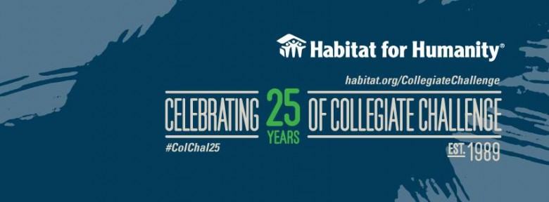 Building Community in Habitat for Humanity's 25th Anniversary Collegiate Challenge