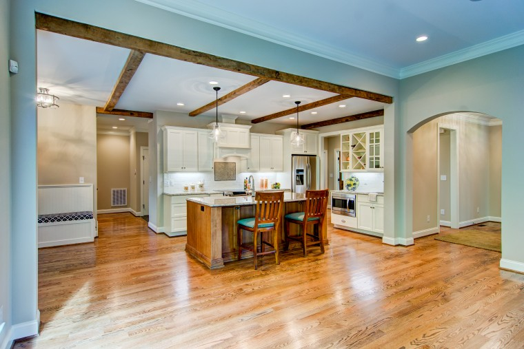 Kitchen, Custom Home, Sonoma Building Company, Parade of Homes, Lewisville, North Carolina