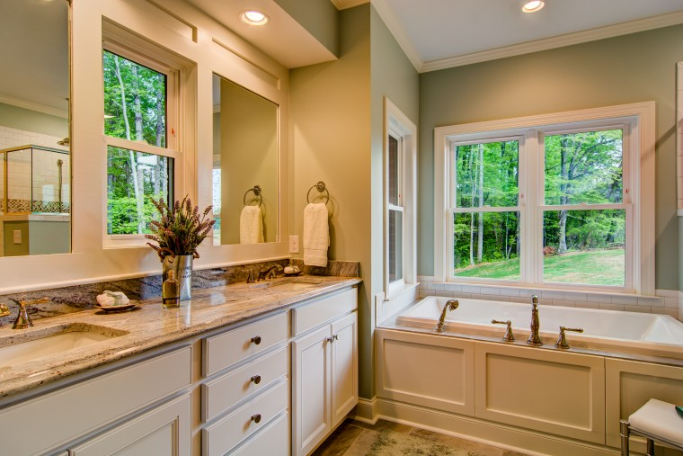 Bathroom - Custom Home - Sonoma Building Company
