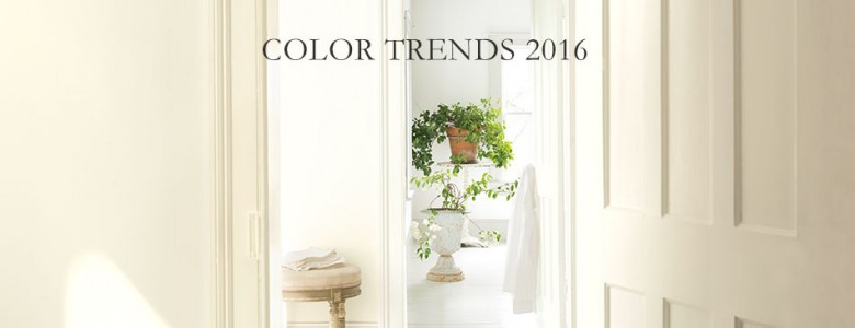 Shades of 2016: Paint Color Forecast