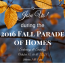 You're Invited! 2016 Fall Parade of Homes