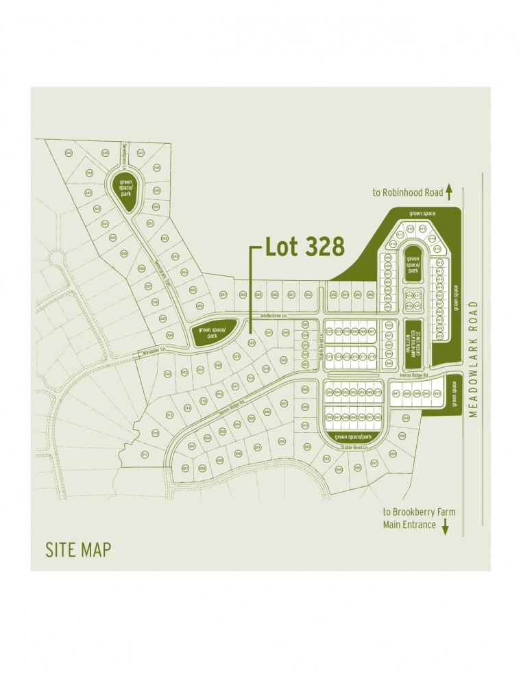 Brookberry Farm - Sonoma Building Company - Lot 328 - Phase IV