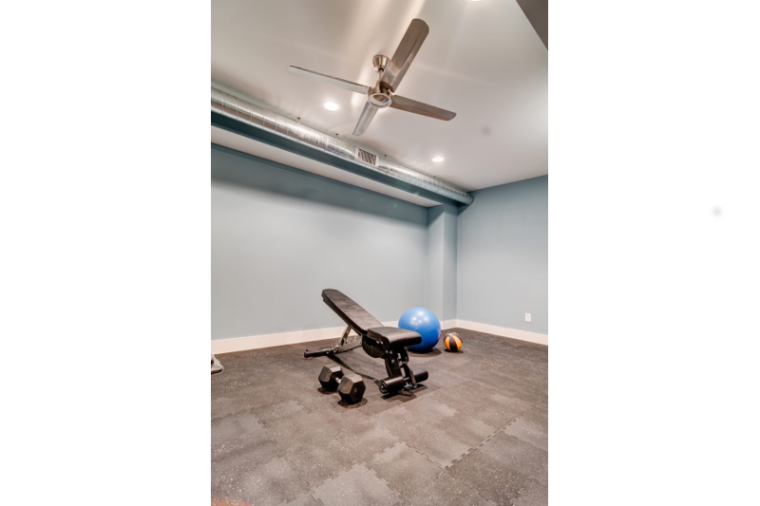 Sonoma Building Company, Renovation, Exercise Room, Basement, Winston Salem, NC